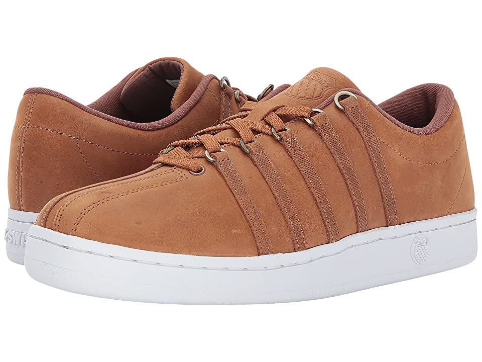 K-Swiss The Classictm (Cognac/Antique Brass/White) Men