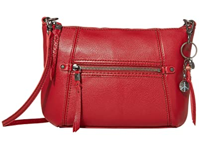 The Sak Sequoia 3-in-1 Crossbody (Scarlet) Handbags