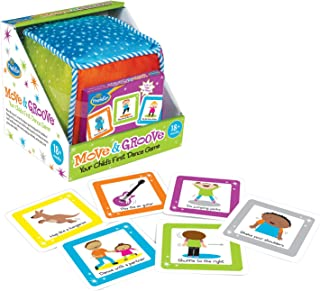 Think Fun Move and Groove Dance Game for Toddlers - Award Winning Game That Inspires Movement, Creativity and Laughter