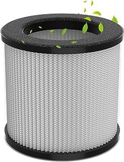 Filtro purificador de aire genuino con prefiltro, filtro HEPA H13 y compuesto de algodón de carbón activado para purificad...