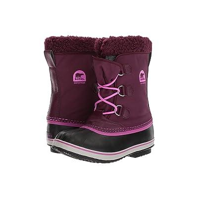 SOREL Kids Yoot Pac Nylon (Little Kid/Big Kid) (Purple Dahlia) Girls Shoes
