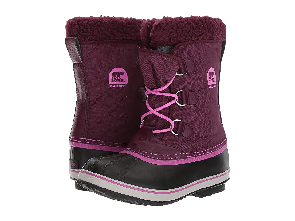SOREL Kids Yoot Pac Nylon (Little Kid/Big Kid) (Purple Dahlia) Girls Shoes