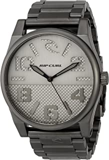 Rip Curl Men's A2715 FLYER GUNMETAL Stainless Steel Watch
