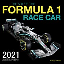 The Art of the Formula 1 Race Car 2021: 16-Month Calendar – September 2020 through December 2021 PDF