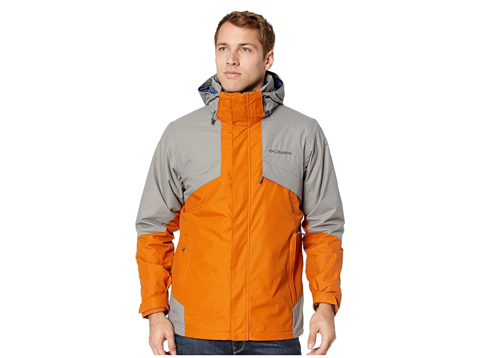 Columbia Bugabootm II Fleece Interchange Jacket (Bright Copper/Boulder/Dark Mountain Heather) Men