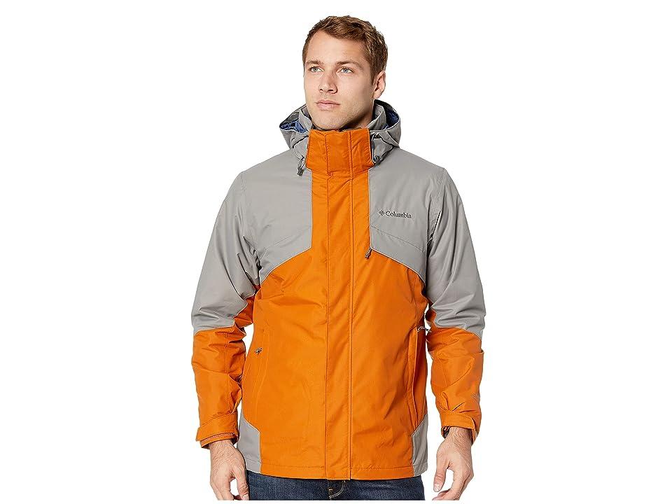 Columbia Bugabootm II Fleece Interchange Jacket (Bright Copper/Boulder/Dark Mountain Heather) Men