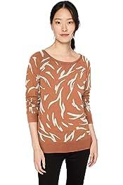 US L Light Heather Grey Marchio EU L - XL Daily Ritual Cotton Modal Stretch Slub Long-Sleeve Seamed Top Fashion-t-Shirts