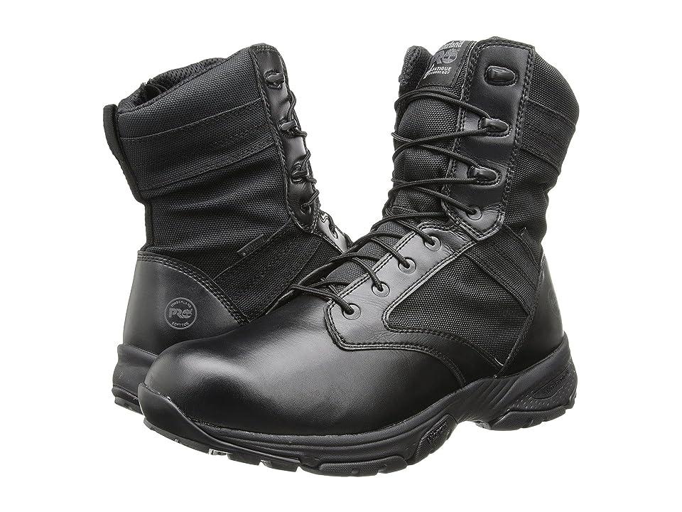Timberland PRO 8 Valor WP Side Zip (Black) Men