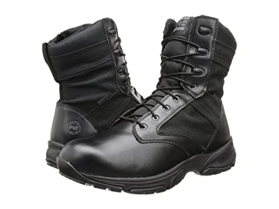 Timberland PRO 8 Valor WP Side Zip (Black) Men