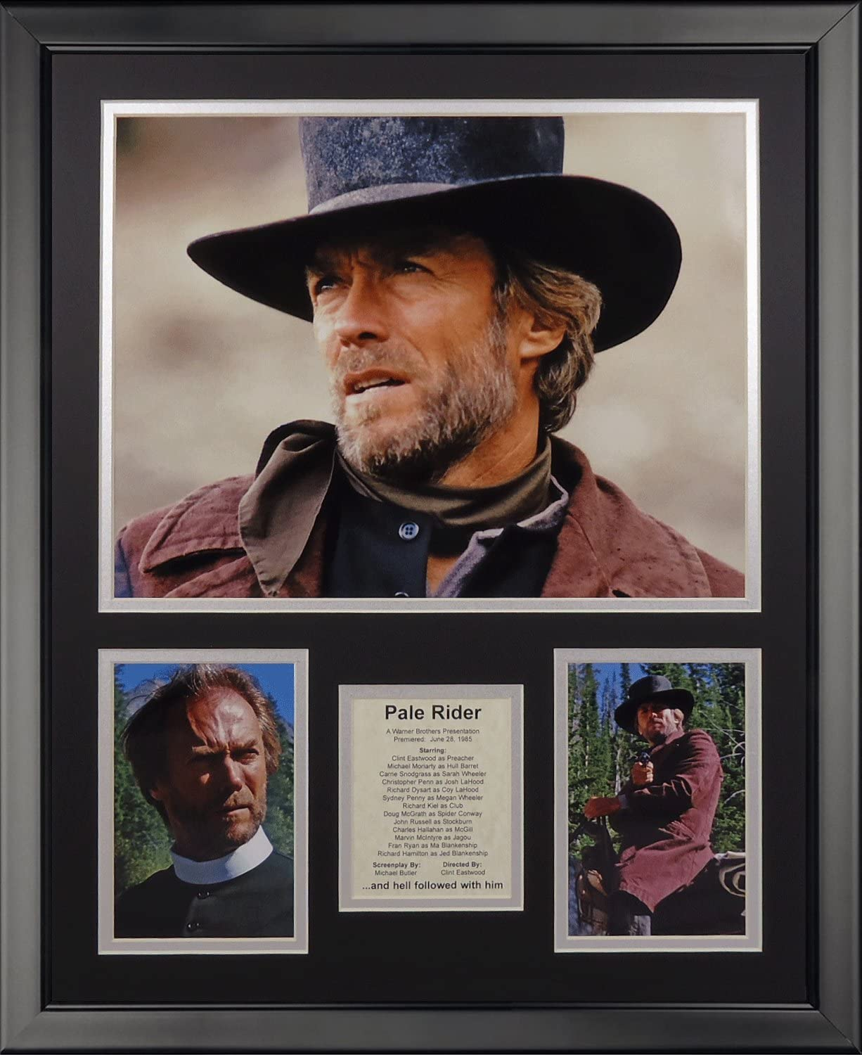 Max 61% National uniform free shipping OFF Legends Never Die Pale Rider Framed Photo 16