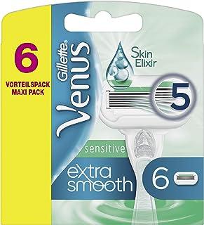 Venus extra smooth sensitive reservemessen, 6 stuks