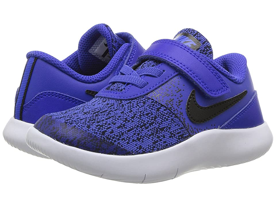 Nike Kids Flex Contact (Infant/Toddler) (Racer Blue/Black/White) Boys Shoes