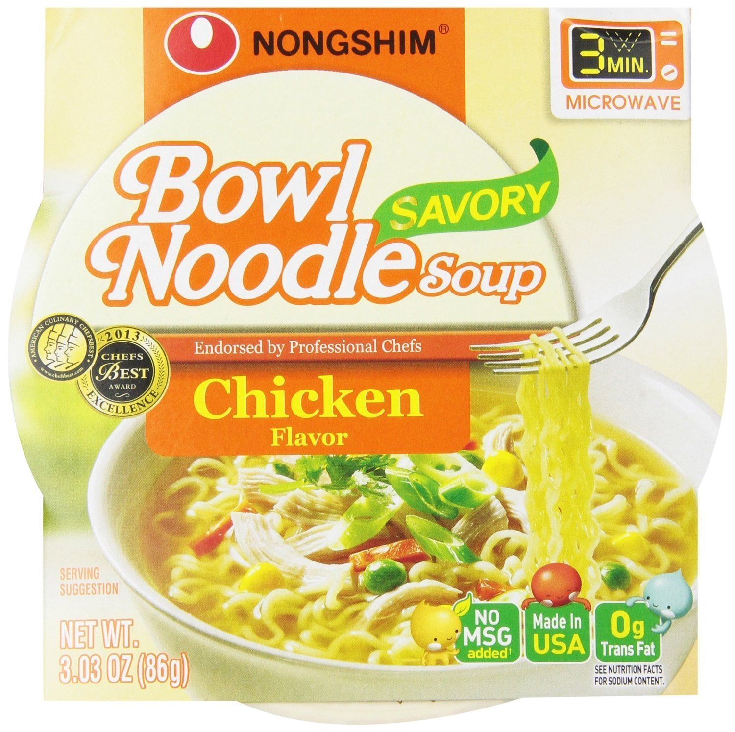 Fashionable NongShim Bowl Noodle Soup 1 year warranty Chicken 6 3.03 Pack Ounce of