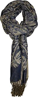 Ted and Jack - Luxe Teardrop Paisley Reversible Pashmina