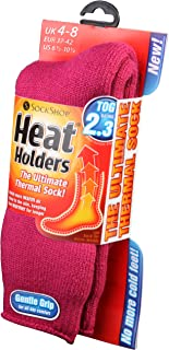 Grabber Heat Holders Thermal Socks, Women's Original, US Shoe Size 5-9, 16..