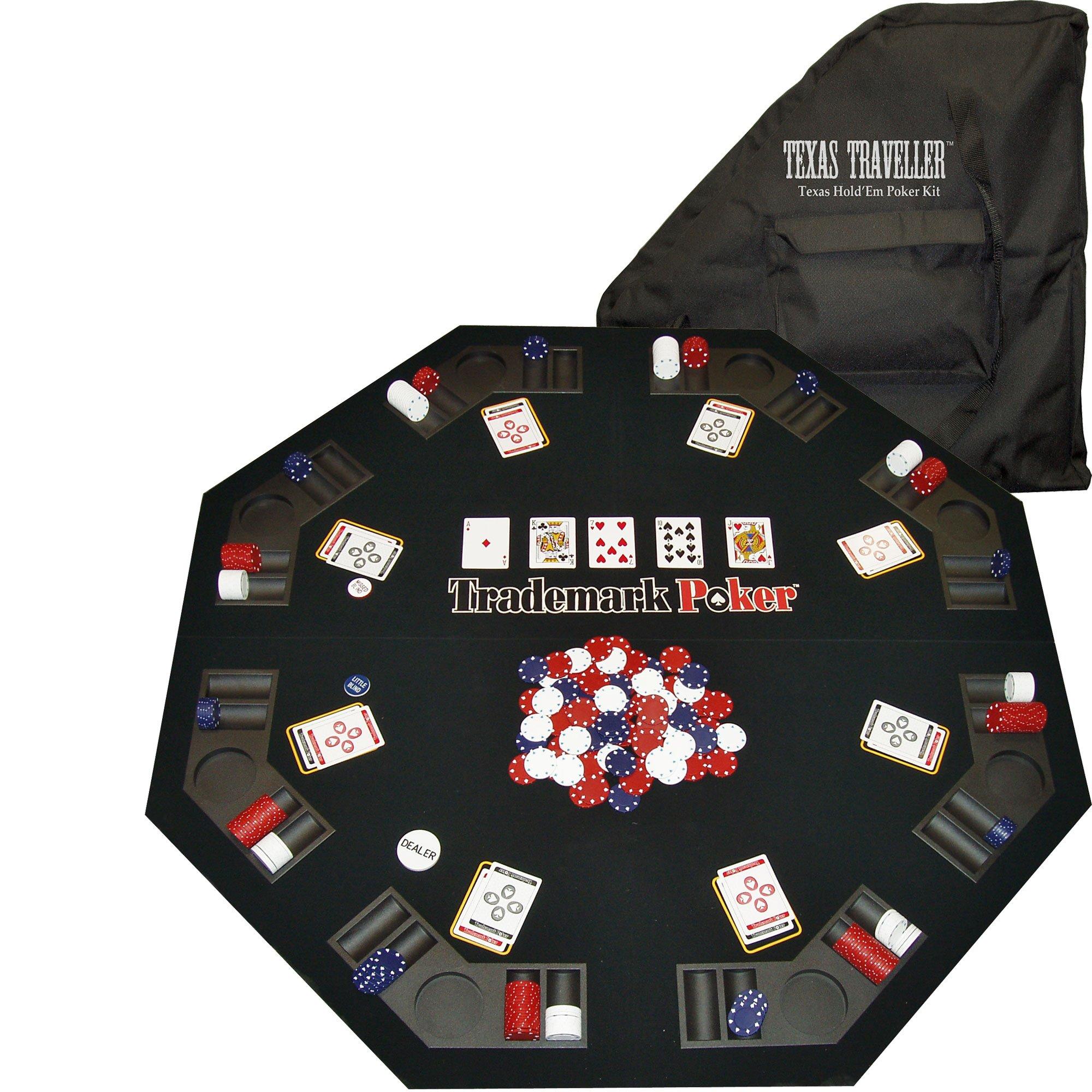 Trademark Poker Texas Traveller Travel