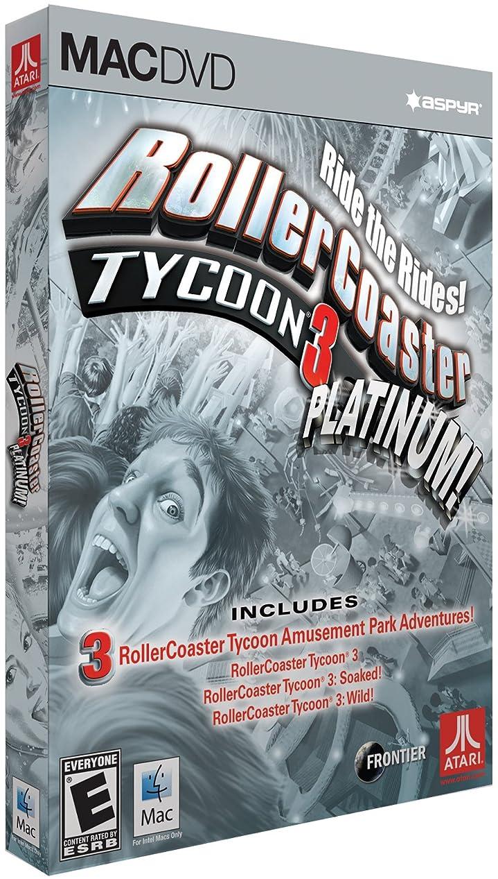 可動式箱防腐剤RollerCoaster Tycoon 3 Platinum (Mac) (輸入版)