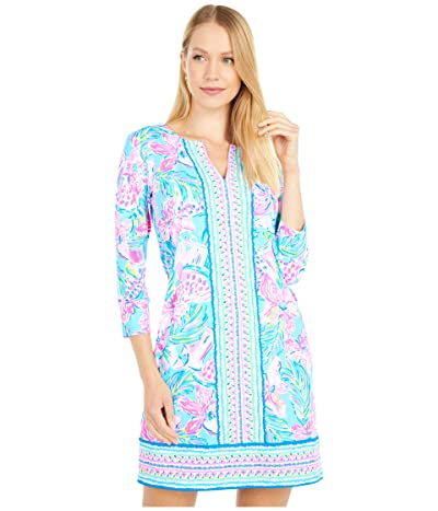 Lilly Pulitzer UPF 50+ Nadine Dress (Blue Ibiza Gimme The Juice Engineered) Women