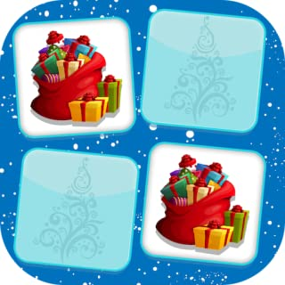 Christmas Memory Game : Flip And Match Cards