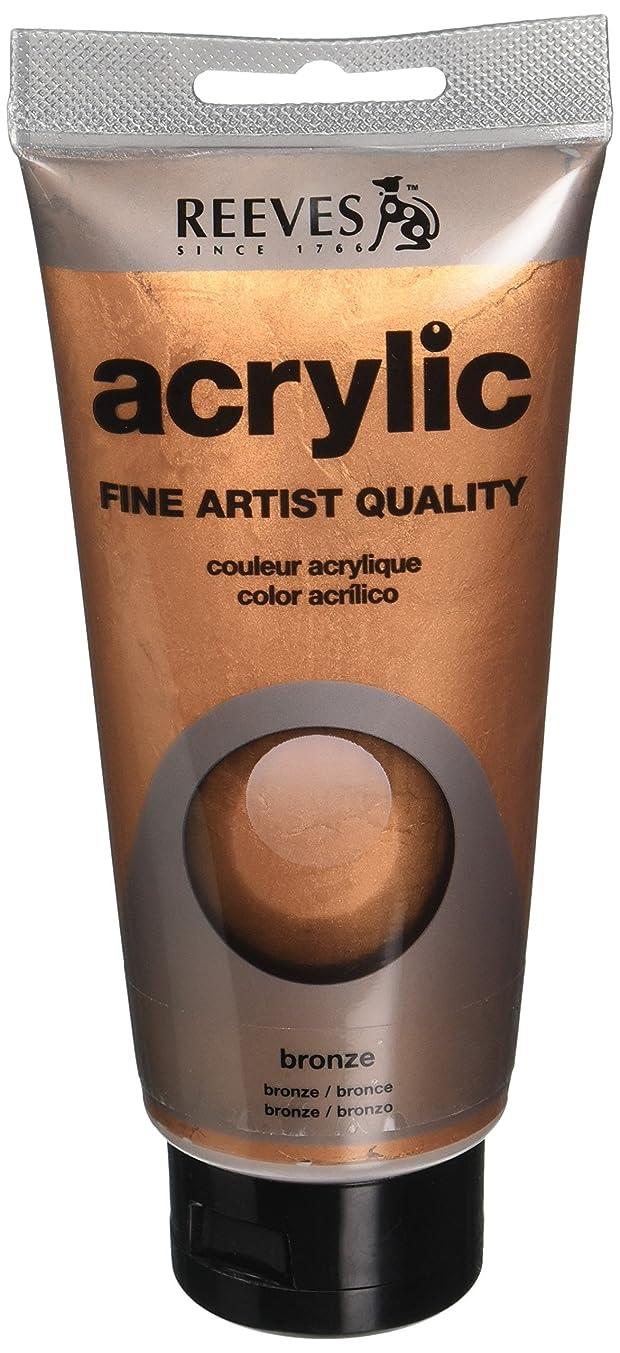 Reeves Acrylic Colour Tube, 200 ml, Bronze