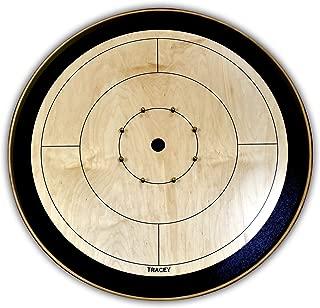Black Tournament Board Crokinole Set (Meets NCA Standards)