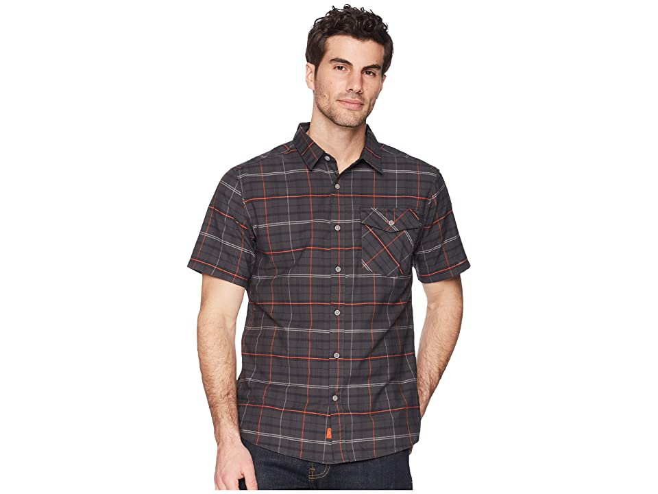 Mountain Hardwear Drummond Short Sleeve Shirt (Shark) Men