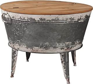 Signature Design by Ashley - Shellmond Accent Cocktail Table - Casual - Two-tone