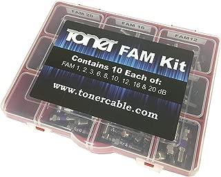 FAM Kit, FAM Series Attenuator Pad Kit, Toner Cable Equipment