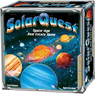 SolarQuest The Space-Age Real Estate Game: Deluxe Edition - Space Adventure - Family, Children, Teens, Adults - Educationa...