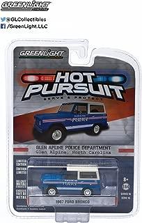 Greenlight 1:64 Hot Pursuit Series 16 1967 Ford Bronco North Carolina Police