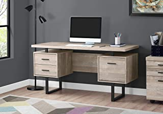 Monarch Specialties Computer Desk with Drawers – Contemporary Style – Home..