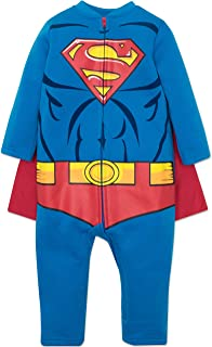 Warner Bros. DC Comics Justice League Superman Strampler, Overall, Kostüm für Kinder und Kleinkinder, 5 Jahre