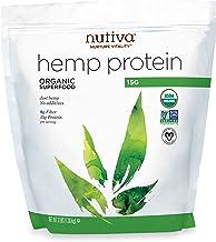 Sponsored Ad - Nutiva Organic Cold-Pressed Hemp Seed Protein Powder, 15G Protein, 3 Pound