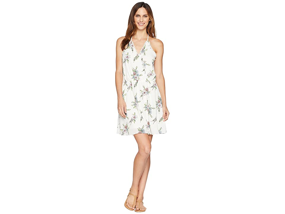 Wrangler Floral Sleeveless Dress (Ivory Floral) Women