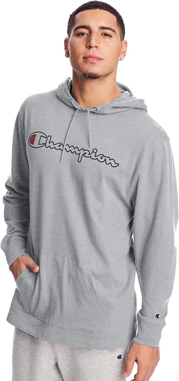 Champion Men's Long Sleeve Nippon regular agency mart Script Hoodie T-Shirt Logo