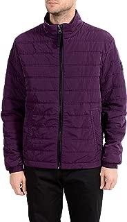 Hugo Boss Men's Owest-D Purple Lightly Insulated Parka Jacket US S IT 48