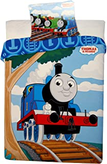 Thomas & Friend Duvet Cover and Pillowcase Set,Kids Duvet Cover,135X 100cm