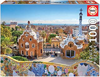 Educa 1000pc Puzzle Barcelona View from Park Guell