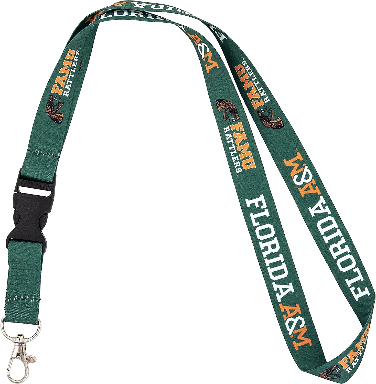 Florida AM University FAMU Rattlers Car Keys Badge Daily bargain sale Holder La ID wholesale