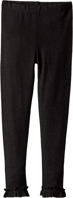 Chaser Kids - Cozy Leggings with Ankle Ruffle Detail (Toddler/Little Kids)