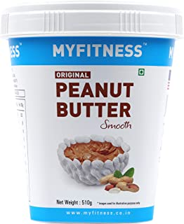MYFITNESS Original Peanut Butter Smooth 510g