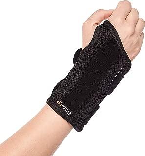 BraceUP® Wrist Support Brace with Splints for Carpal Tunnel Arthritis - Right Wrist (S/M)
