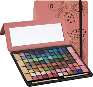 Makeup Kits for Teens - Tablet Case Eyeshadow Palette for Women and Teen - Full Starter Kit or Make Up Gift Set for Teen Girls, Beginners or Pros - Variety Shade Array - by Toysical