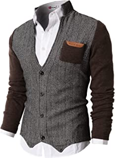 Mens Casual Slim Fit Jacket Cardigans Long Sleeve Thermal of Various Styles