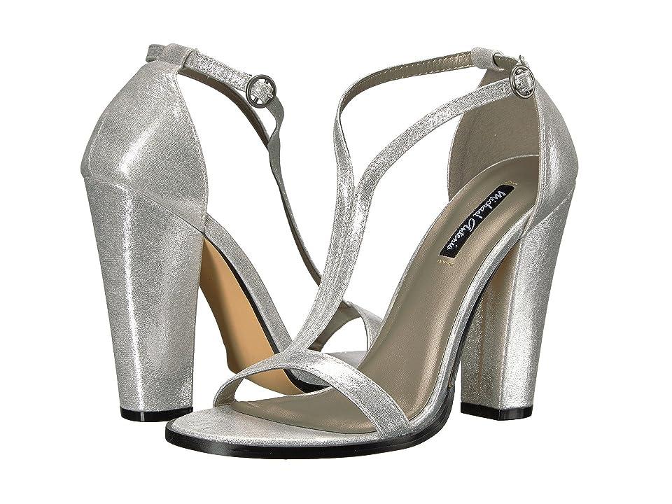 Michael Antonio Jons Metallic (Silver Metallic PU) High Heels