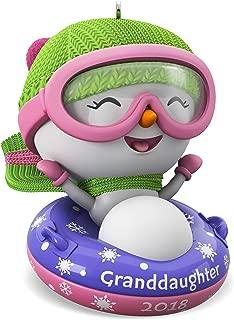 Hallmark Keepsake Christmas Ornament 2018 Year Dated, Granddaughter Snowman
