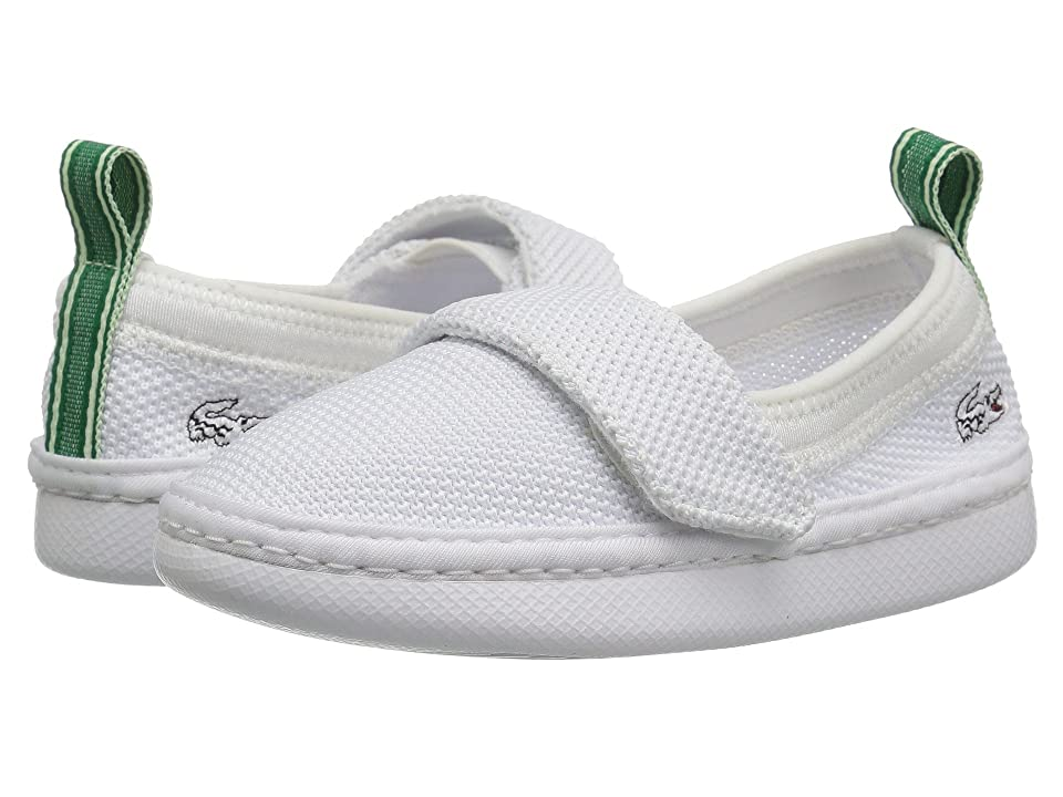 Lacoste Kids L.ydro 118 1 (Toddler/Little Kid) (White/White) Kid