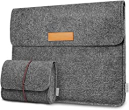 Inateck Laptop Sleeve Case Bag Compatible with 15 Inch MacBook Pro Touch Bar A1707/A1990(2019/2018/2017/2016) and 14 Inch ...