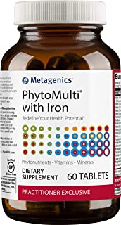 Metagenics PhytoMulti® With Iron – Multivitamin Supplement | 60 Tablets