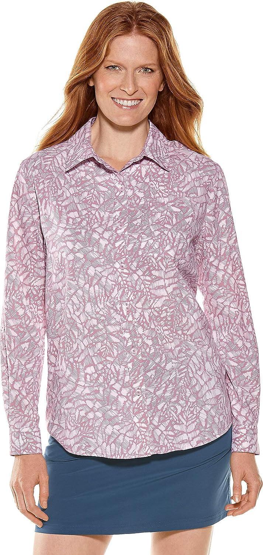 01389 Women's Sun Shirt UPF 50 Mauve XXL
